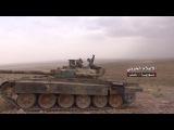 مواجهات عنيفة بين الجيش السوري وحلفائه ضد مسلحي داعش في جبال الشومرية انتهت بسيط...