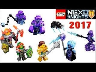 LEGO Nexo Knights 2017 Монстрокс и запретные Силы. Боевые доспехи Нексо Рыцари