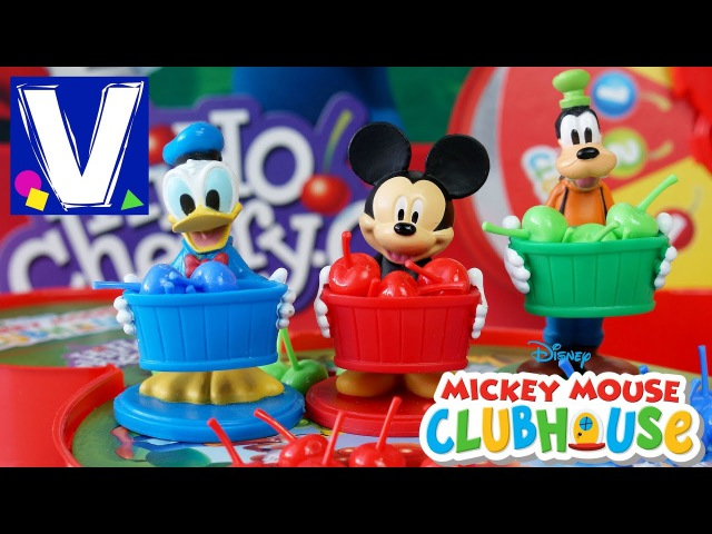 👦 Клуб Микки Мауса Игра для детей Hi Ho Cherry-O Game Disney Mickey Mouse Clubhouse Hasbro