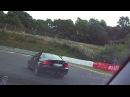 Nürburgring CLK430 vs. M3 E93 Chrash BMW M3 E36