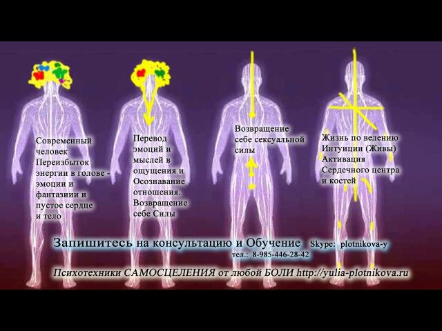 Головные Боли, Депрессия, Апатия: Три Энергоцентра