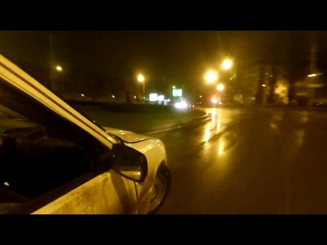 Night Drifting Street drift Russia 2017 Иж2126 16valve