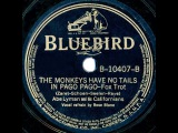 1939 Abe Lyman - The Monkeys Have No Tails In Pago Pago (Rose Blane, vocal)