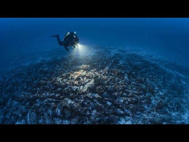 IBEAM descubre un barco romano hundido en la isla de Cabrera España