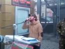 Чеченец в МосквеКрасиво поет нашид