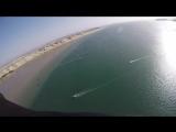 Momo drone humain sur la lagune-HD