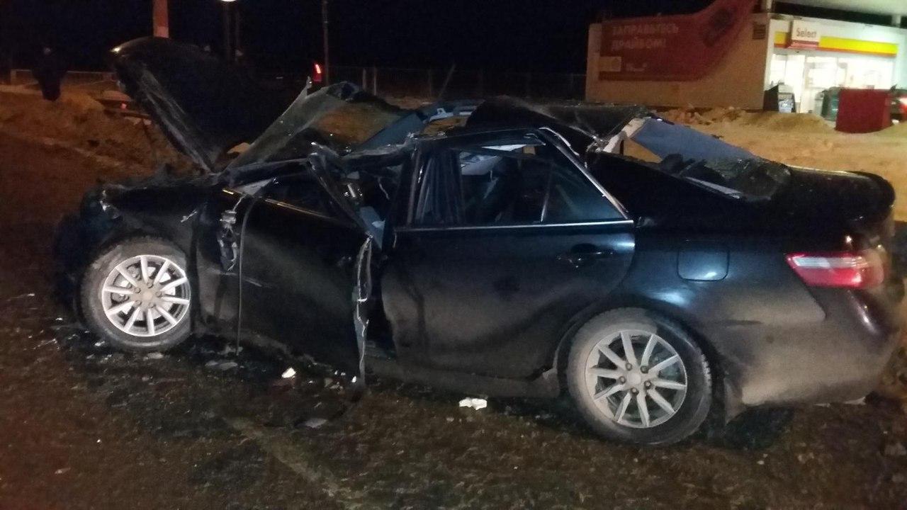 В результате ДТП водитель «Тойота Камри» скончался в больнице