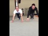 Акробатические виражи и упражнения по воркауту (X-Fit Мурманск)