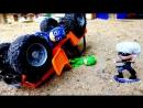 #ГероиВМасках попали в Аварию! #Кэтбой и Гекко ловят Лунную Девочку! Видео игры для мальчиков