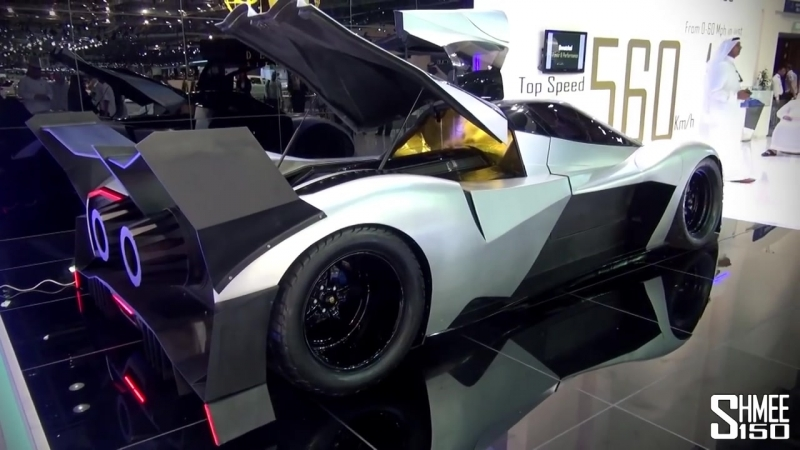 5,000hp Devel Sixteen - Crazy V16 Hypercar with 560km_h Top Speed