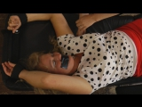 Mom Tape Gagged and Tickled Hard by her Evil Daughter