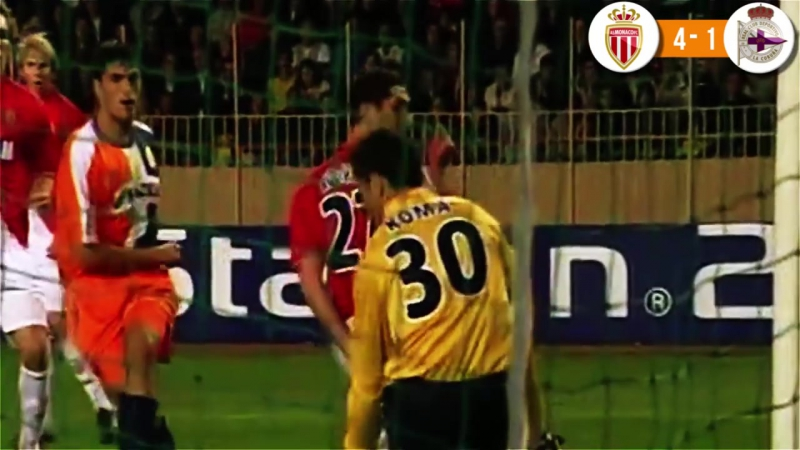 Monaco vs Deportivo 8-3 - 05_11_2003 - All Goals