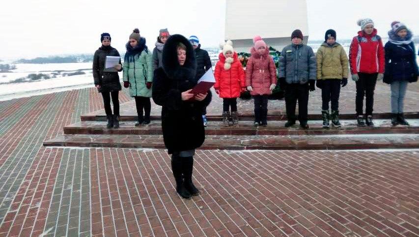 В Михайловском районе состоялся митинг в рамках областной патриотической акции «Линия жизни»