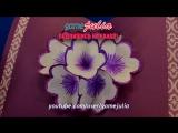 DIY Открытки - 3D Волшебная открытка с цветами - Поделки из бумаги