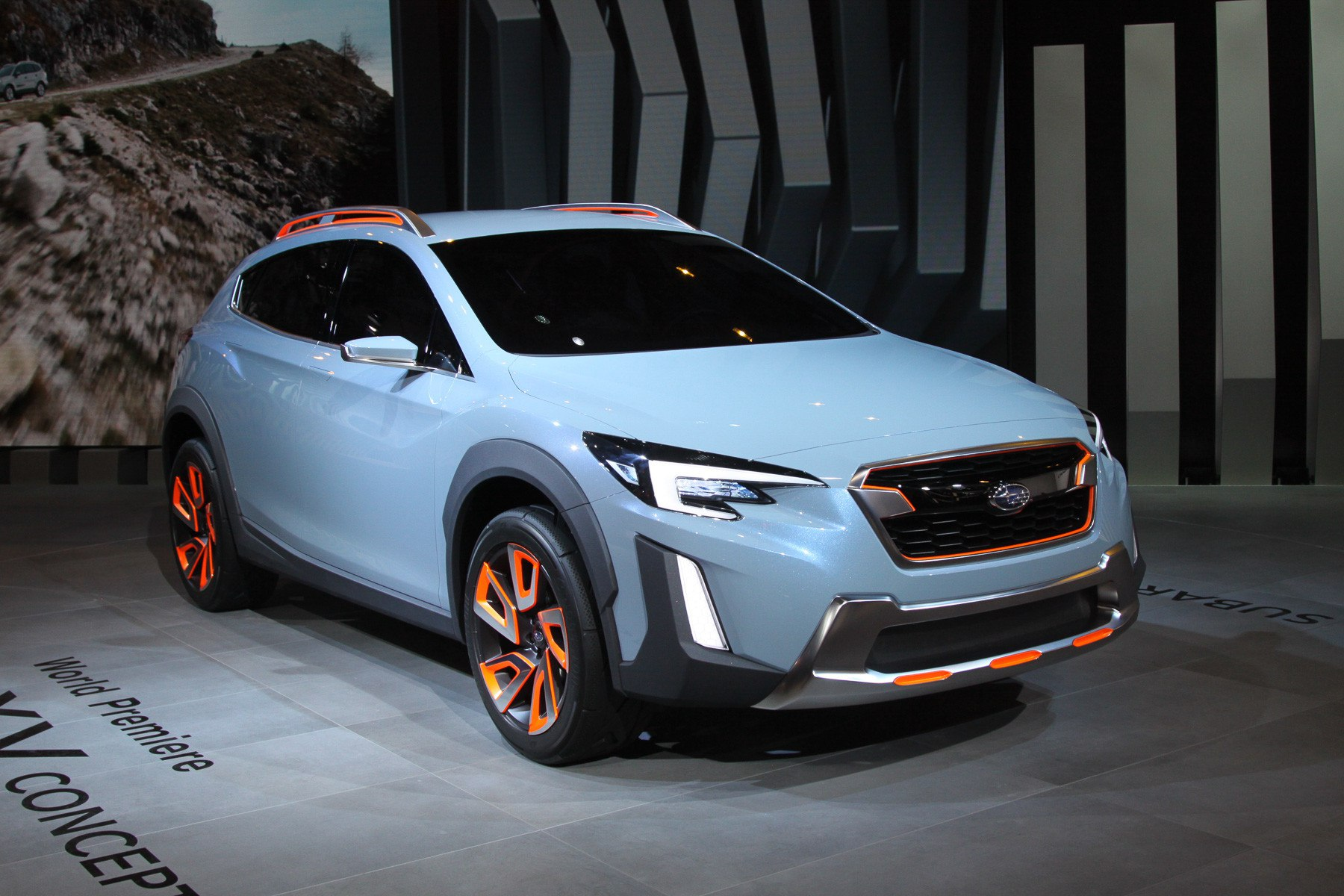 Subaru XV: почти серийная версия
