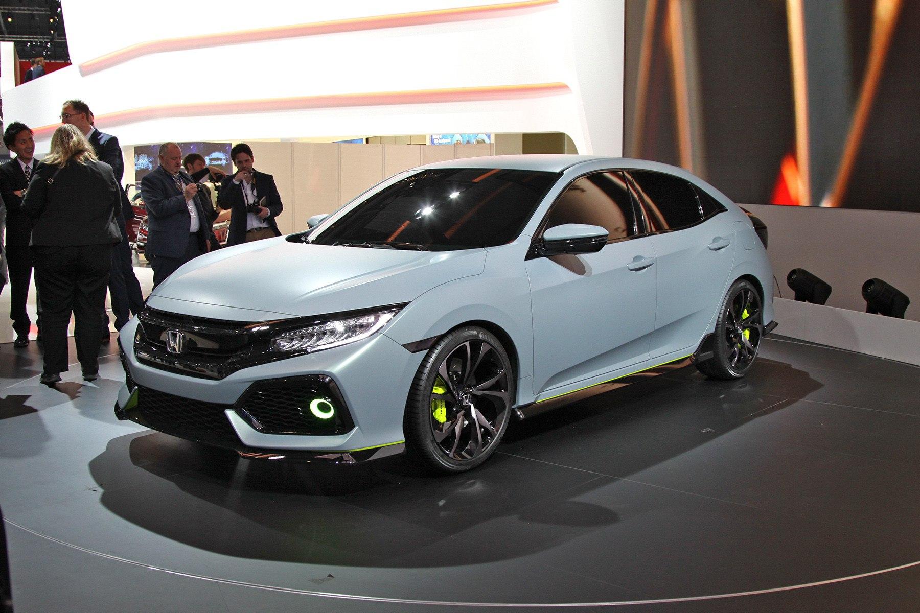 Новый хэтчбек Honda Civic: спорт и агрессия!