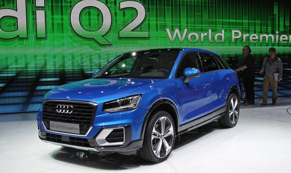 Q2: новый кроссовер от Audi