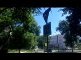 07.07.2017г.Дорожный знак ул.Медицинская-ул.Фасадная восстановлен!Всем спасибо!