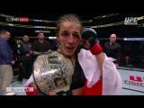 UFC 211: Интервью Йоанны Енджейчик и Джессики Андраде [RUS]