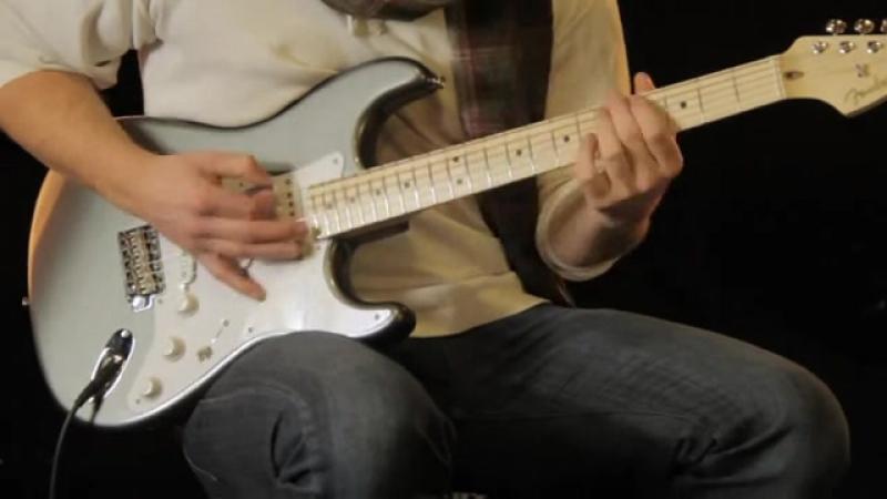 Видео с демонстрацией TBX Tone Control в подписной гитаре Клэптона.