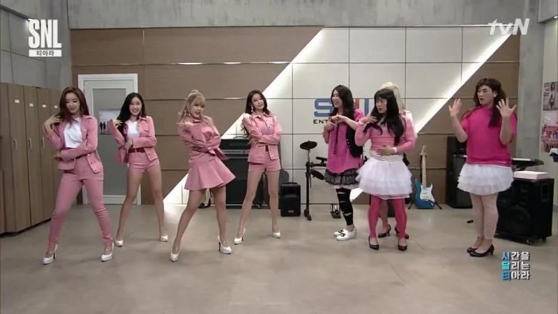 T-ARA What's My Name @ tvN Saturday Night Live