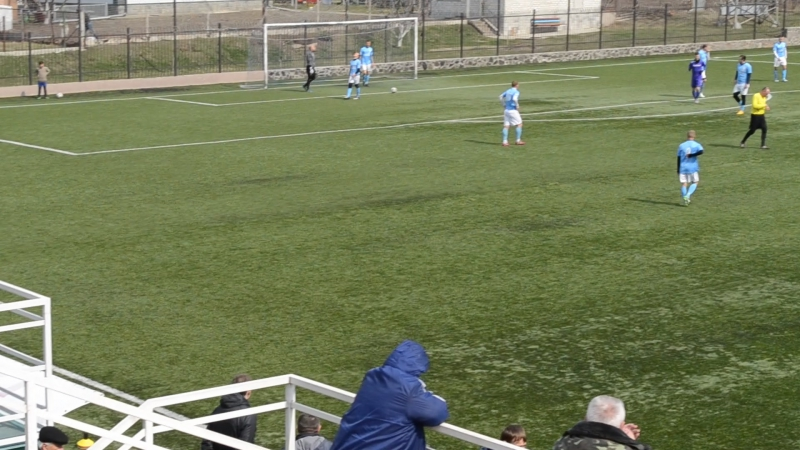 Олімп - ЛНЗ-Лебедин -1:0 (гол Підвисіцького на 21-й хв.)