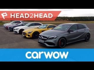 Ultimate Mercedes-AMG Drag Race׃ six cars... 2983hp... one winner! ¦ Head2Head