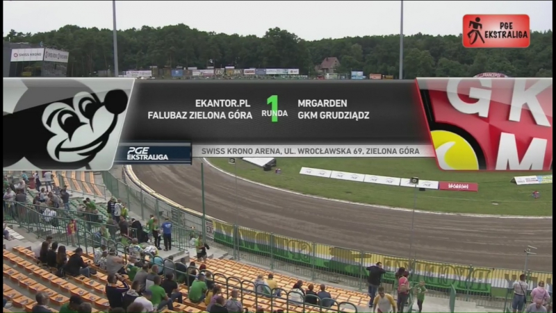 Ekantor.pl Falubaz Zielona Góra - MRGARDEN GKM Grudziądz (24.07.2017)