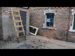 Украинские военные в третий раз обстреляли дом маленькой девочки Саши