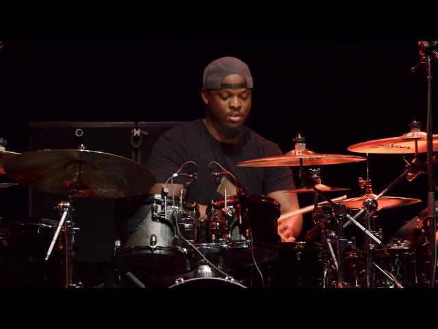 Larnell Lewis Rashid Williams - Guitar Center's 28th Annual Drum-Off (Part 4)