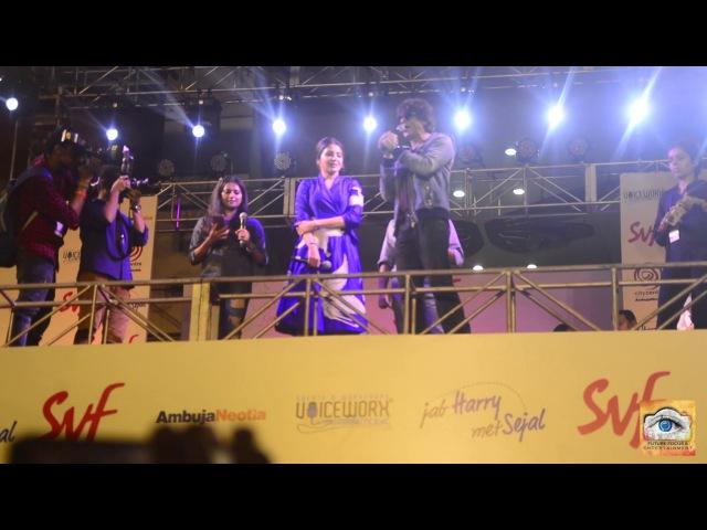 SRK Live Performance Kolkata | Jab Harry Met Sejal Promotion | Shah Rukh Khan | Anushka Sharma