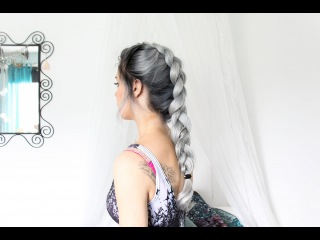 Big Faux Hawk Dutch Braid Tutorial!