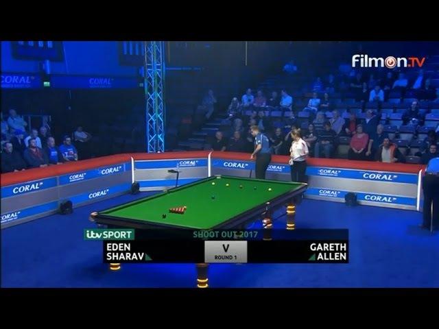 Gareth Allen v Eden Sharav Shoot Out 2017