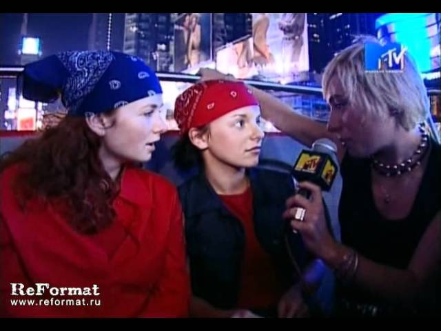 T.A.T.u. на MTV Video Music Awards (VMA'2001 full interview)