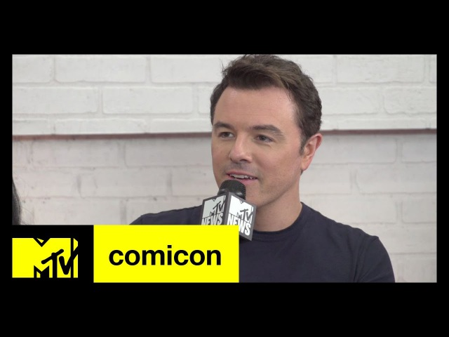 The Orville is a Dream Project for Seth MacFarlane | Comic-Con 2017 | MTV