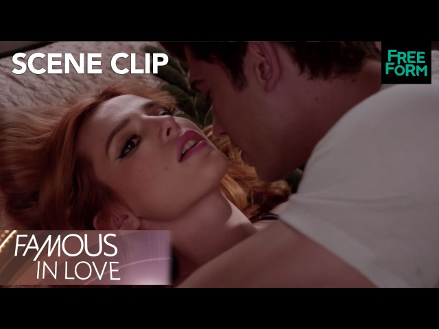 Famous In Love | Season 1 Episode 9 Paige and Rainer Rehearse A Steamy Scene | Freeform