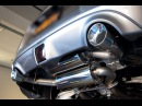 09 Nissan 370z AAM Axleback S Line Midpipe Comparison with OEM Exhaust