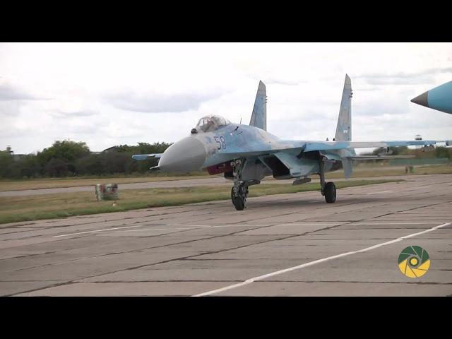 Як пілоти українських Су-27 готуються до авіашоу у Великобританії
