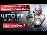 Можно ли играть в Ведьмак 3: Дикая Охота на ноутбуке? (The Witcher 3: Wild Hunt)