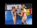 Robin vs Nadege - female wrestling