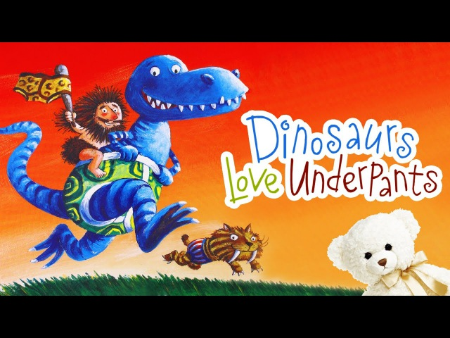 Dinosaurs Love Underpants by Claire Freedman Children's book read aloud Storytime With Ms Becky