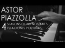 Astor Piazzolla 4 Seasons of Buenos Aires Piano Solo