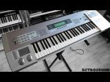 KORG Z1 MOSS Synthesizer (1997) single sound demo