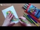 Техники работы с акварельными карандашами. Ч1.