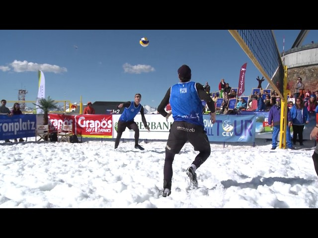 2017 CEV Snow Volleyball European Tour - Kronplatz / Plan de Corones - Men Winners