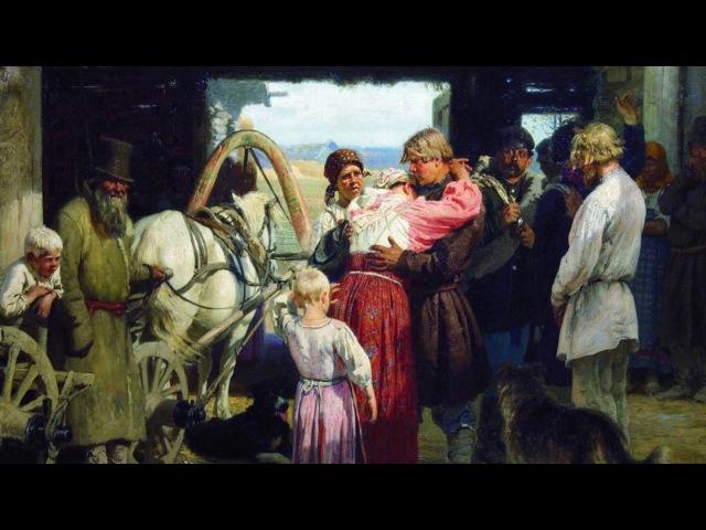 Проводы новобранца, Репин — ОБЗОРЫ КАРТИН