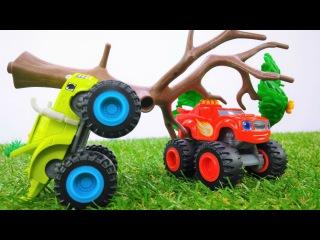 Мультики про машинки: #Вспыш и #ЧудоМашинки ПОПАЛИ в УРАГАН! 🌀Видео для мальчик ...