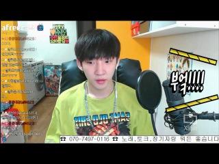 [BJ별하][161130] 전화 연결되서 너무 놀란 나머지 신음소리와 부엌!!을 외치는 매력