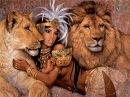 Три способа выкладки алмазной мозаики. Роскошная арабская красавица с львами.