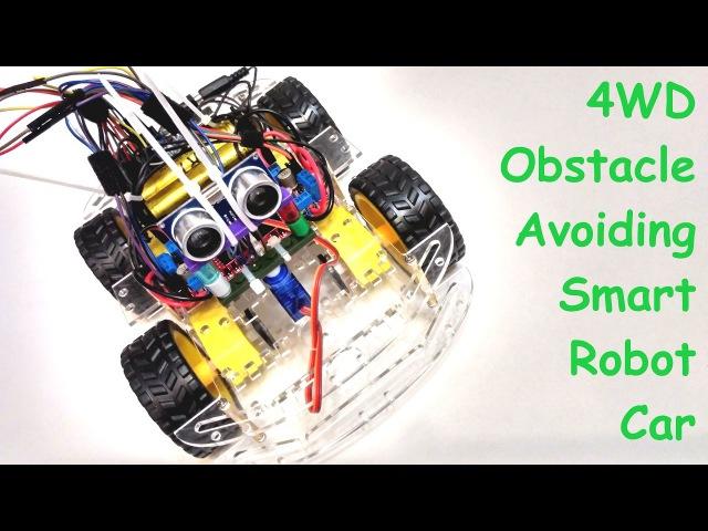 Ардуино робот, объезжающий препятствия - Ардуино робот 1